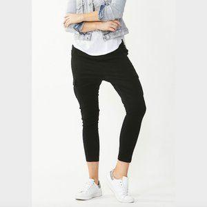 Decjuba Black Jessie Twill Drop Crotch Pants 8